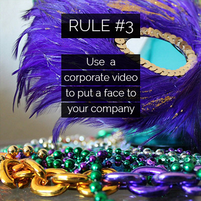 New Orleans Corporate Video Production Can Put a Face on Your Company